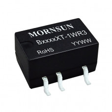 B0515XT-1WR3 Mornsun 5V to 15V DC-DC Converter 1W Power Supply Module - Compact SMD Package