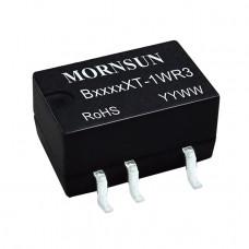 B0515XT-1WR3 Mornsun 5V to 15V DC-DC Converter 1W Power Supply Module - Compact SMD Package