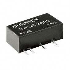 B1205S-2WR2 Mornsun 12V to 5V DC-DC Converter 2W Power Supply Module - Miniature SIP Package