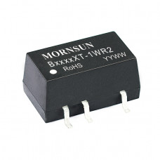 B2405XT-1WR2 Mornsun 24V to 5V DC-DC Converter 1W Power Supply Module - Compact SMD Package
