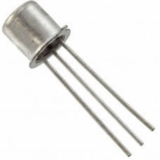 BC107 NPN General Purpose Transistor 45V 200mA TO-18 Metal Package