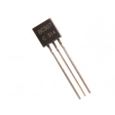 BC307 PNP General Purpose Amplifier Transistor 45V 100mA TO-92 Package