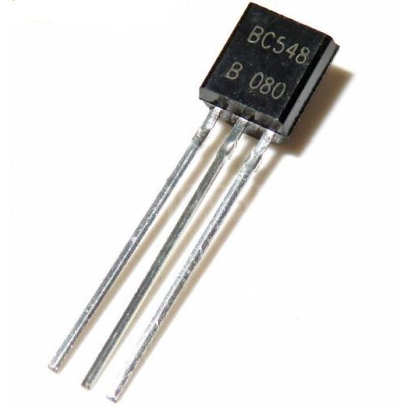 BC548 NPN General Purpose Transistor TO92 Package buy ...