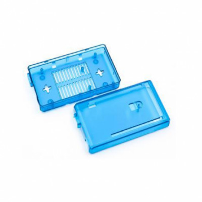 Blue Transparent ABS Case for Arduino Mega 2560