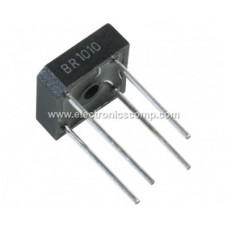 BR1010 - 1.1V 10A Single Phase Bridge Rectifier