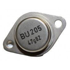 BU205 NPN Power Transistor 700V 2.5A TO-3 Metal Package