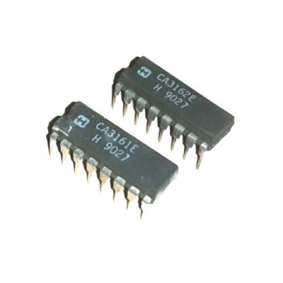 CA3161 IC + CA3162 IC Pair A/D Converter for 3 Digit Display DIP-16 Package