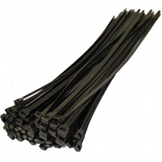 150mm - Cable Tie Pack - Black - 10 Pieces Pack
