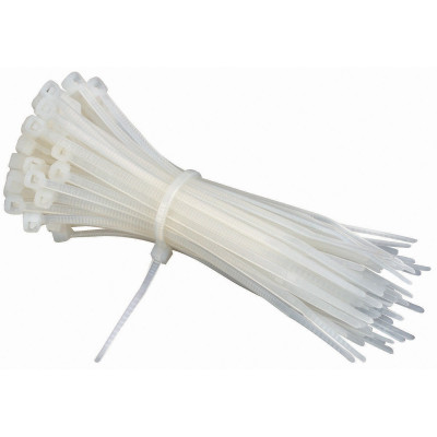 100mm - Cable Tie Pack - White - 10 Pieces Pack