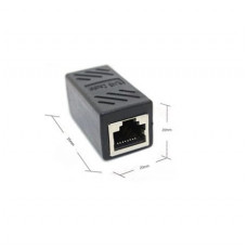 CAT6 RJ45 Female-to-Female LAN Cable Extension Adapter