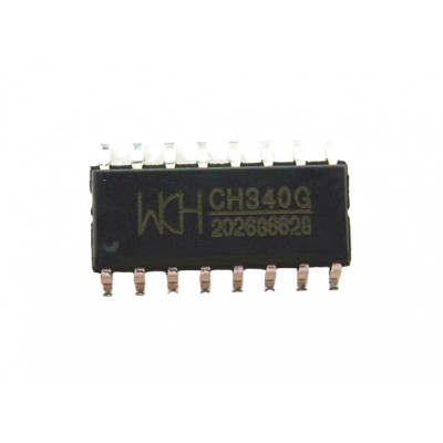 CH340G (SMD SOP-16 Package) USB to Serial TTL Converter IC