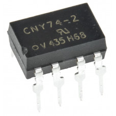 CNY74-2 IC - 2-Channel Optocoupler with Phototransistor IC