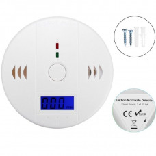 CO Gas Sensor Detector Carbon Monoxide Poisoning Alarm Detector With LCD Display