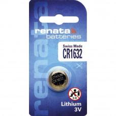 Renata CR1632 3V 137mAh Lithium Coin Cell Battery