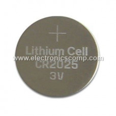 CR2025 - 3V Lithium Coin Cell Battery