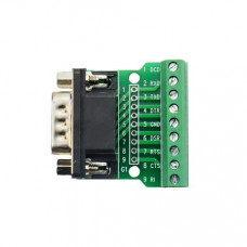 DB9 Male Screw Terminal to RS232 RS485 Conversion Board