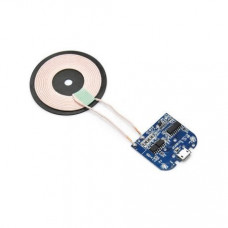 DC 5V Qi Standard Micro USB Input PCBA Circuit Board With Coil for Wireless Phone Charging - Transmitter