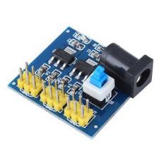 DC-DC 12V to 3.3V 5V 12V Power Module Multi Output Voltage Conversion