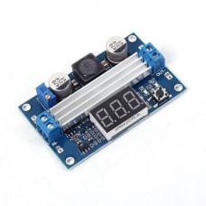 DC-DC High Power Adjustable Step-up Module 3.0-35V to 3.5-35V 100W with Digital Display Voltmeter