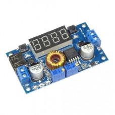 DC-DC XL4015 Adjustable Stepdown Module 5A 75W with 4 Bits Digital Display Voltmeter