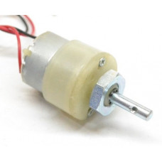 200 RPM - 12V Centre Shaft DC Geared Motor