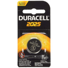 Duracell DL2025 (CR2025) 3V 150mAh Lithium Coin Cell Battery