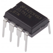 DS75176 RS-422/RS-485 Interface IC DIP-8 Package