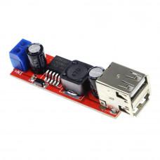 Dual USB Output 9V / 12V / 24V / 36V Car Charger Switch 5V DC-DC Power Supply Module 3A Buck Regulator