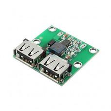 Dual USB Output 9V-12V-24V to 5V 3A DC-DC Car Charging Voltage - Stabilizer Module