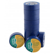 Electrical PVC Insulating Tape - Blue Color - 1 Piece Pack