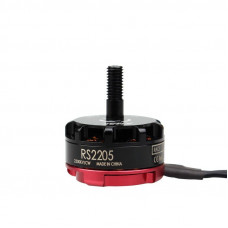EMAX RS2205 2300KV Brushless DC Motor for FPV Racing Drone - Red Cap (CCW Motor Rotation)