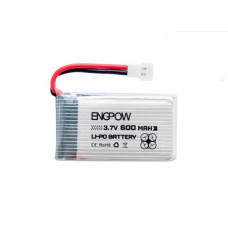 Engpow 3.7V 600mAH (Lithium Polymer) Lipo Rechargeable Battery for RC Drone