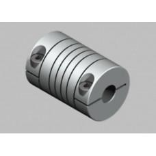 Flexible coupling OD:25mm x L:32mm Bore:10x10mm (ZRB-25x32)