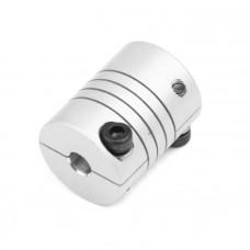 Flexible Coupling OD:20mm x L:25mm Bore: 5x5mm