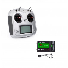 Flysky FS-i6S 2.4GHz 10 Channel AFHDS 2A RC Transmitter With FS-iA10B 10 Channel Receiver