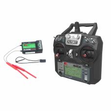 Fly Sky FS-i6X 2.4GHz 6CH AFHDS 2A RC Transmitter With FS-iA10B 2.4GHz 10CH Receiver