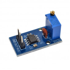 NE555 Frequency Adjustable Pulse Square Wave Signal Generator Module