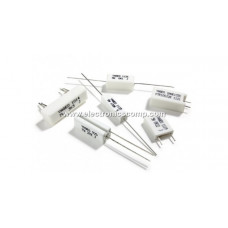 1 ohm - 10W - Fusible Cement Resistor