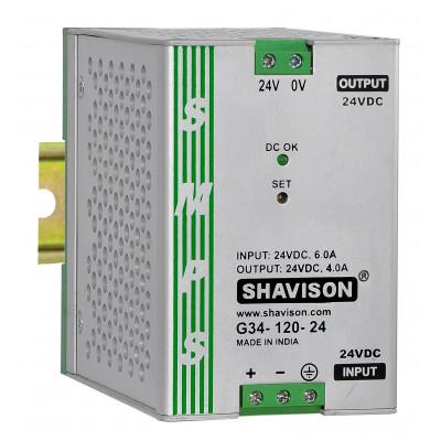 G31-120-24 Shavison  SMPS - 24V 5A - 120W DIN Rail Mountable Metal Power Supply