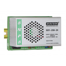 G31-250-24 Shavison SMPS - 24V 10A - 240W DIN Rail Mountable Metal Power Supply