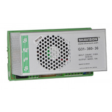 G31-360-36 Shavison SMPS - 36V 10A - 360W DIN Rail Mountable Metal Power Supply