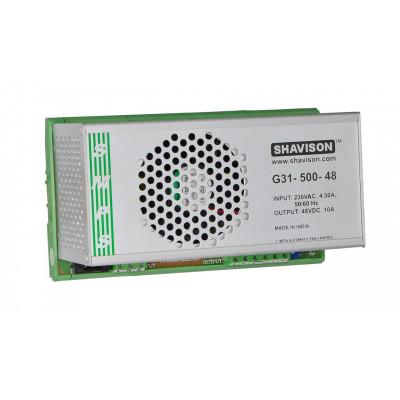 G31-500-48 Shavison SMPS - 48V 10A - 480W DIN Rail Mountable Metal Power Supply