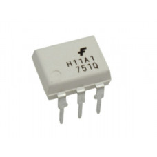 H11A1 Transistor Output Optocoupler IC DIP-6 package