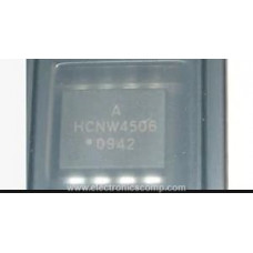 HCNW4506 IC - (SMD Package) -  Intelligent Power Module and Gate Drive Interface Optocoupler IC