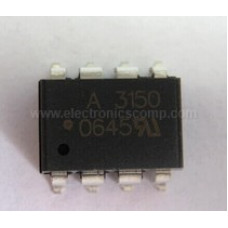 HCPL-3150 (A3150) IC - (SMD Package) -  IGBT Gate Drive Optocoupler IC