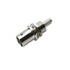 HD-SDI BNC Connector For Cable Female Vertical type 180 Degree Crimp