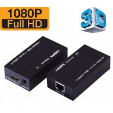 HDMI LAN Ethernet Extender Over Single Cat5E/ Cat6 RJ45