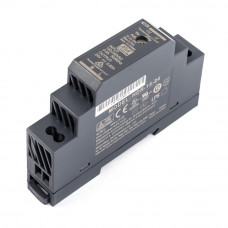 HDR-15-24 Mean well SMPS - 24V 0.63A 15.2W Din Rail Metal Power Supply