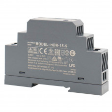 HDR-15-5 Mean well SMPS - 5V 2.4A 12W Din Rail Metal Power Supply