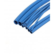 Heat Shrink Tube - 8 mm Diameter - Blue - 1 meter